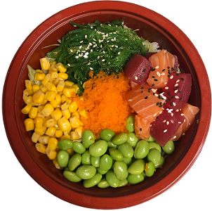 Foto Sashimi mix Poke Bowl