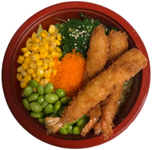 Foto Fried Ebi poke Bowl
