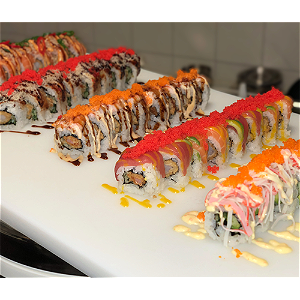 Foto Fried ebi roll 8 stuks